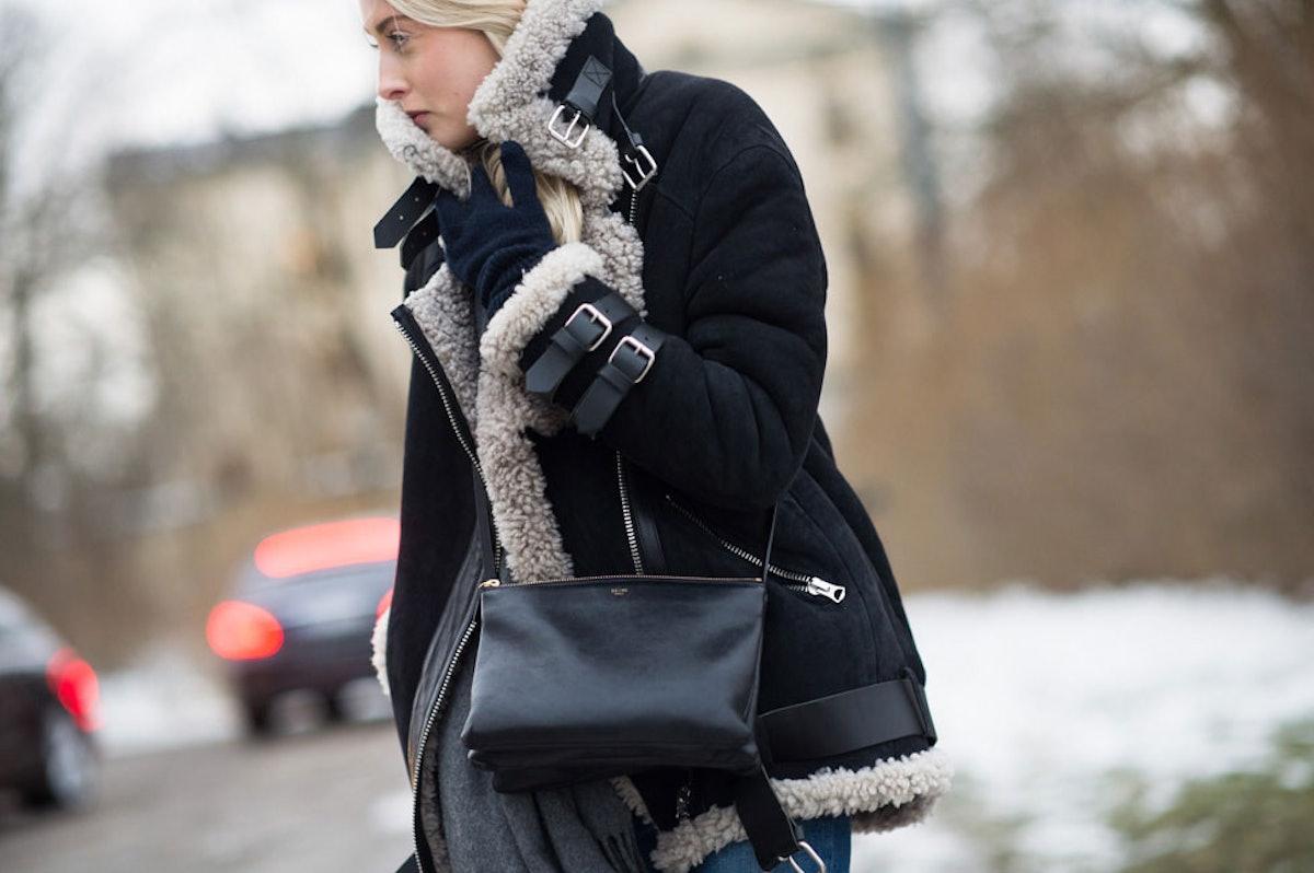 Stockholm Fashion Week Fall 2014 Street Style Day 1.