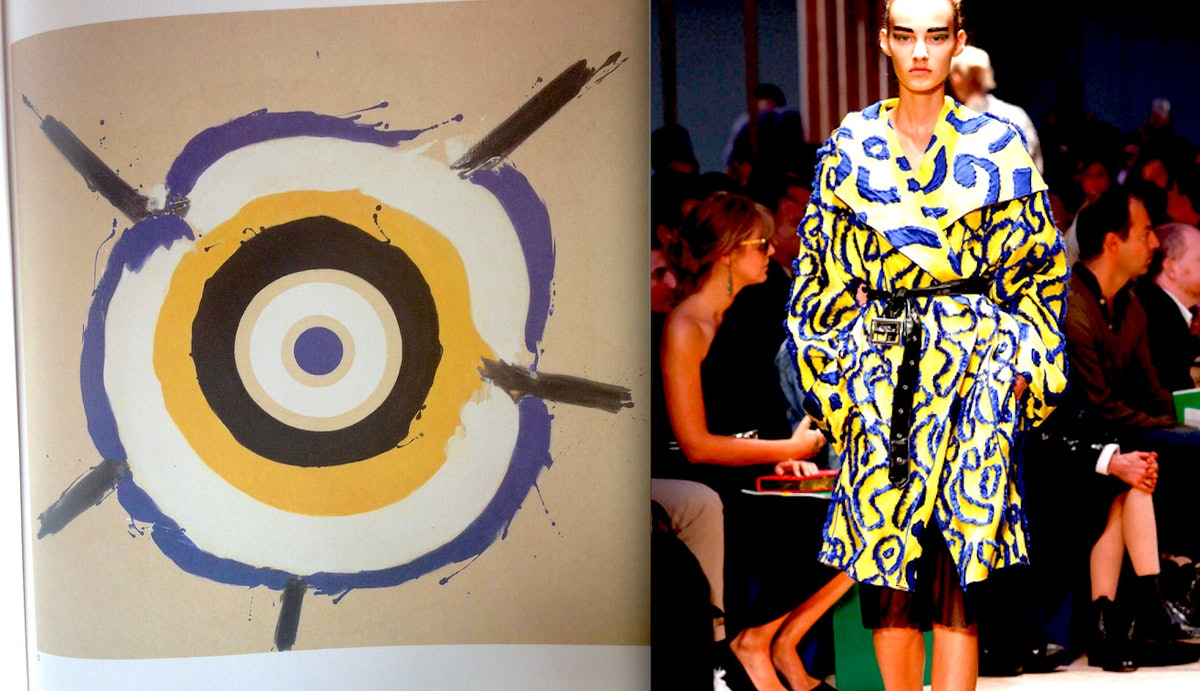 """""""There were so many art references in the [spring 2014 collections](http://www.wmagazine.com/fashion..."""