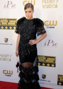 Though Adèle Exarchopoulos has opted mainly for [black and white](http://www.wmagazine.com/mood-boar...