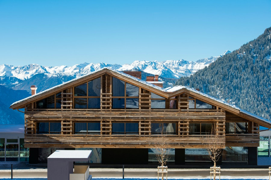 The Away Spa Verbier. Photo courtesy of W Hotel.