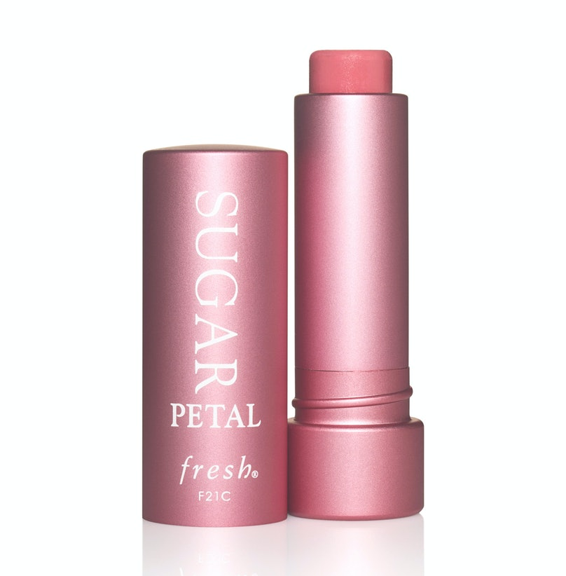 """During the brisk cold chilly months, I rely heavily on lip balms. This one softens instantly and gives a light tint."" —Tina Huyhn, Assistant Jewelry Editor        Fresh Sugar Petal Tinted Lip Treatment SPF 15, $22.50, [sephora.com](http://rstyle.me/n/czux3w3n)"