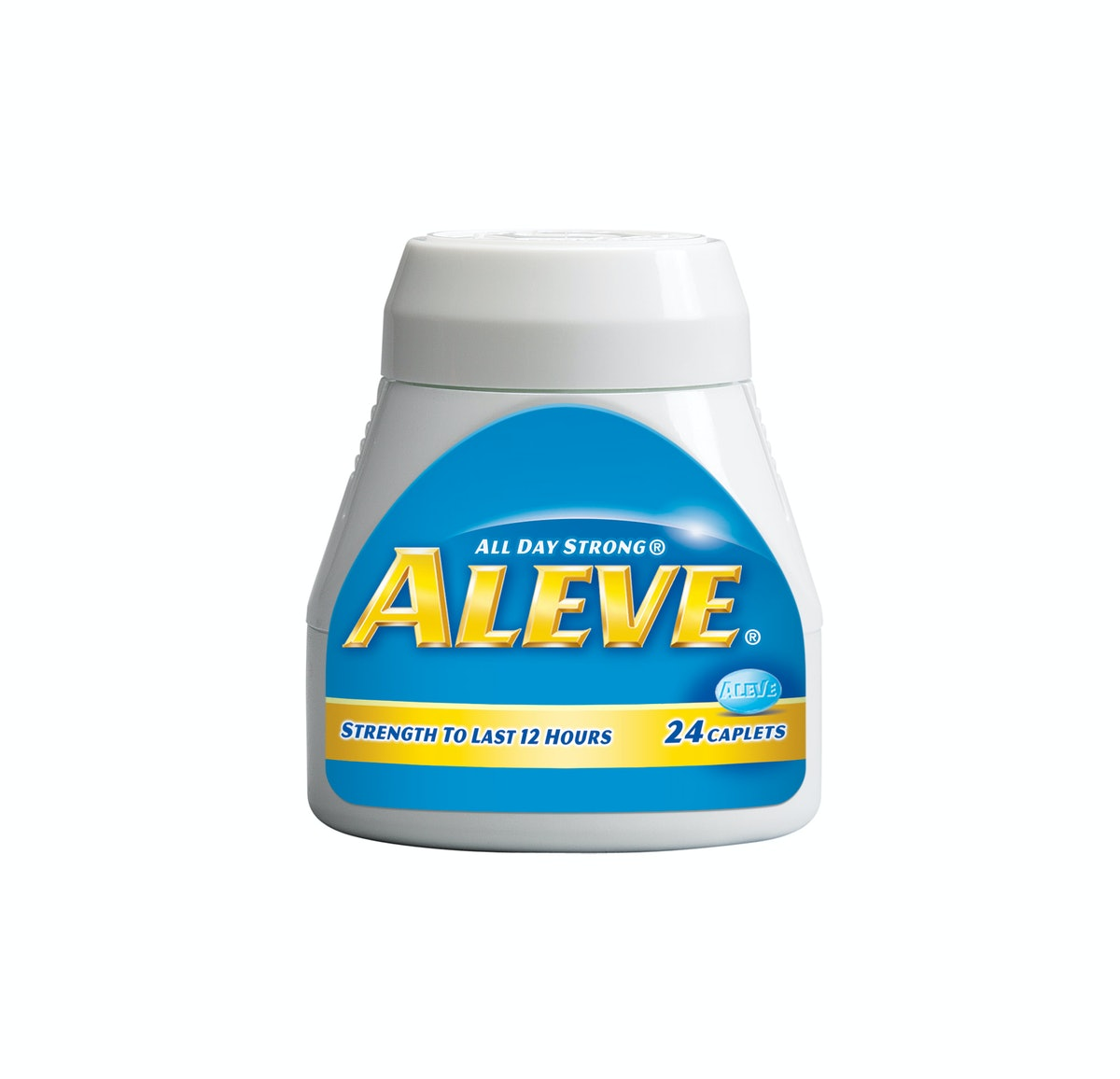 """""""My new favorite wonder drug. So much better than Advil."""" —Karin Nelson, Features Editor       Aleve..."""