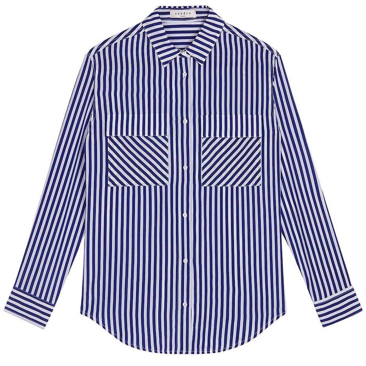 Seattle fans, show your stripes.       *Sandro shirt, $375, [sandro-paris.com](http://us.sandro-paris.com/).*