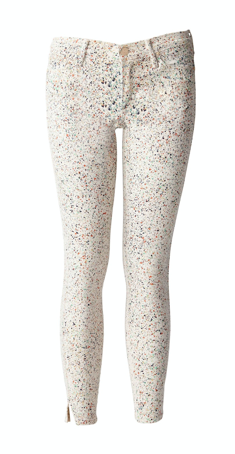 No celebratory confetti required with these festive jeans.       *Mother printed jeans, $198, [motherdenim.com](http://motherdenim.com/).*