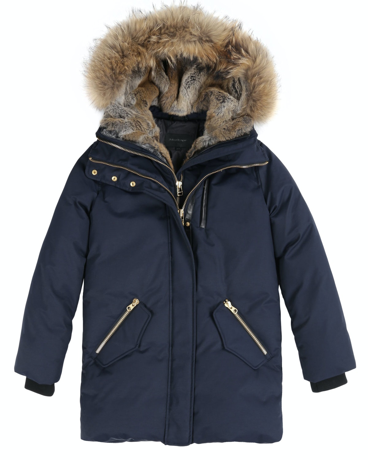 In the market for a stadium coat? I ran into two people this week (not including Madonna) that swore this one is super warm!       *Mackage navy down parka with natural fur trim on hood, $890, [mackage.com](http://www.mackage.com/us/en/marla-f3-navy-down-parka-with-natural-fur-trim-on-hood)*