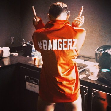 __#Bangerz:__ During her tour this fall, the singer shared a lot of tongue-in-cheek shots from the r...
