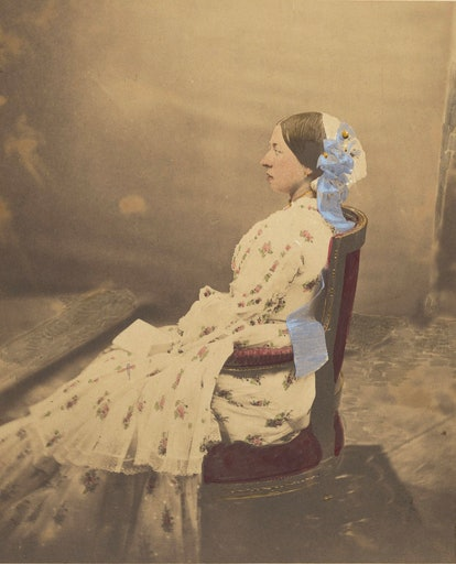 Queen Victoria shot by Roger Fenton, 1854. Photograph courtesy of the Getty.