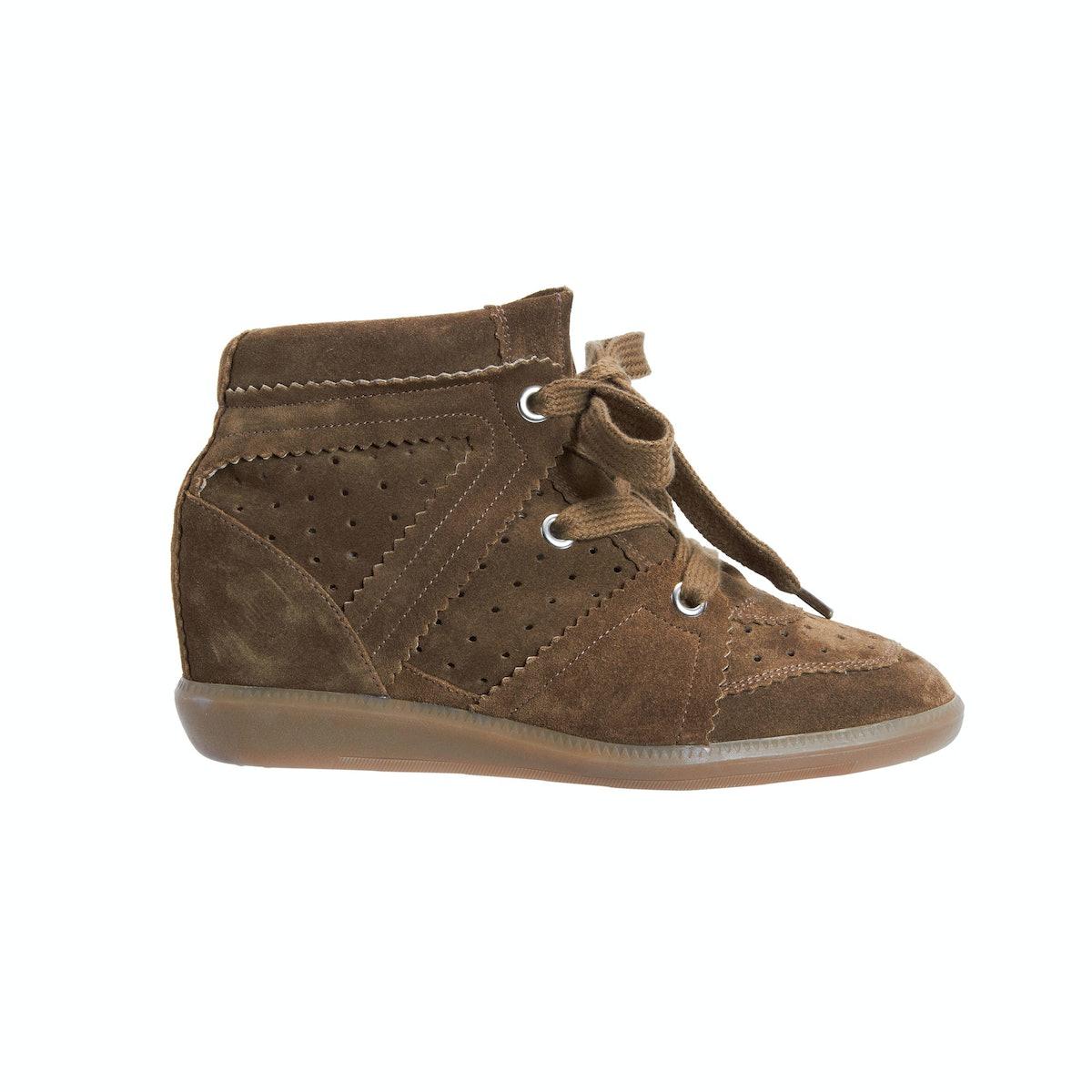 Isabel Marant Bobby sneaker, $695, [barneys.com](http://www.barneys.com/on/demandware.store/Sites-BN...