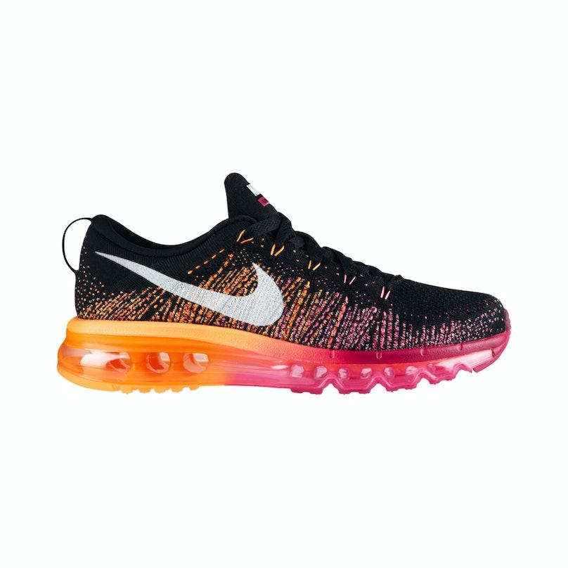 Nike flyknit air max running shoe, $225, [nike.com](http://store.nike.com/us/en_us/pd/flyknit-air-max-running-shoe/pid-845783/pgid-808866).
