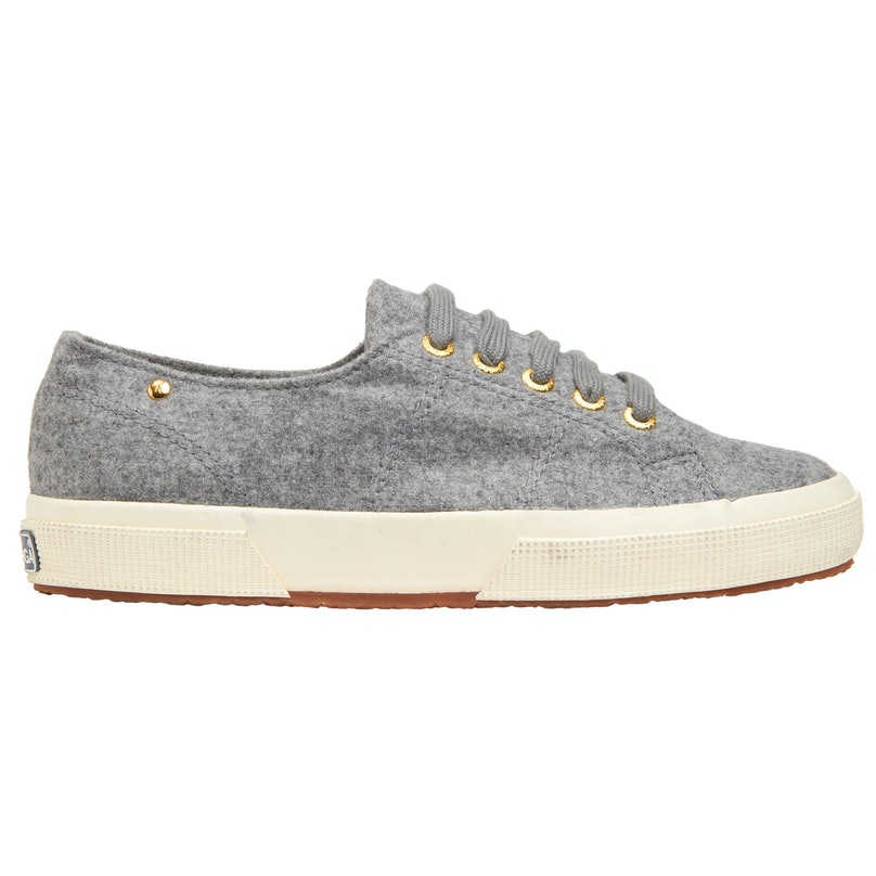 Superga x The Row cashmere low top sneaker, $325, [barneys.com](http://www.barneys.com/Superga%20x%20The%20Row%20-%20Cashmere%20Low%20Top%20Sneaker/501732867,default,pd.html).