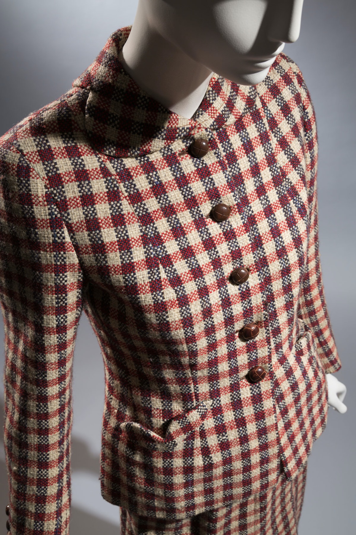 """Aimee de Hereen suit    """"This was made by Knize, the Viennese tailors who dressed the Habsburgs, for..."""