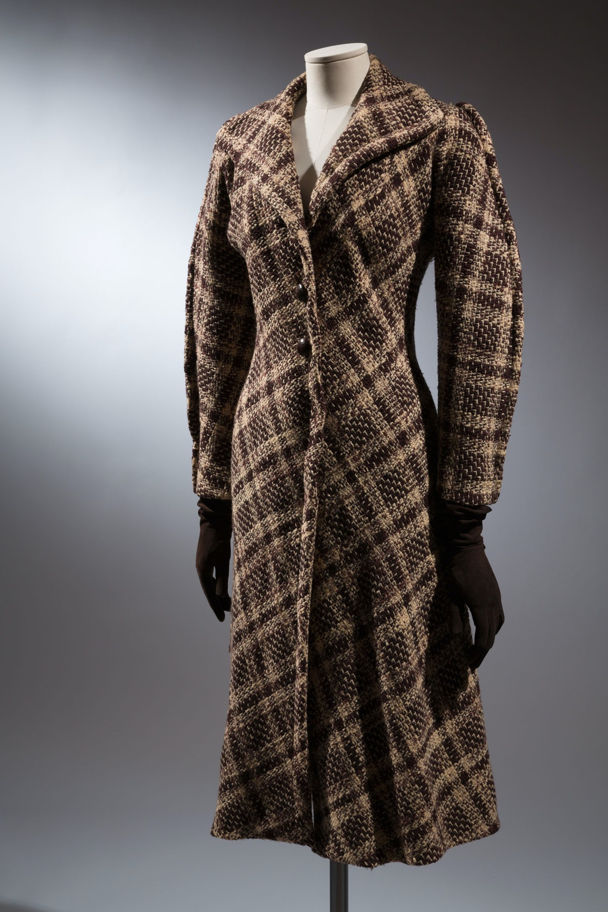"""Charles James coat    """"What's interesting about this coat is that you can see that he was experiment..."""