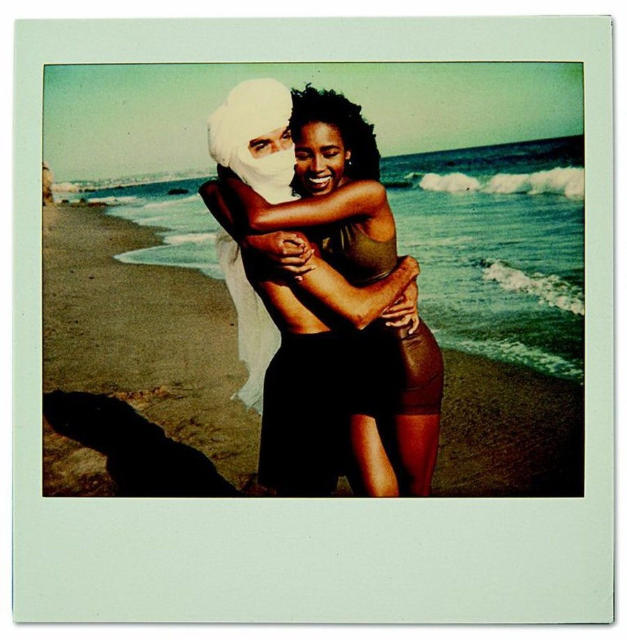 Hamid and Naomi Campbell. Image courtesy of Le Livre Art Publishing.