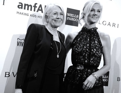 Vanessa Redgrave and Joely Richardson.