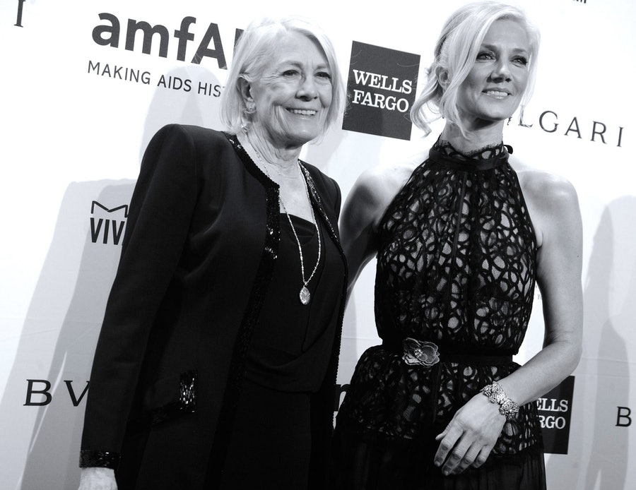 Vanessa Redgrave and Joely Richardson.