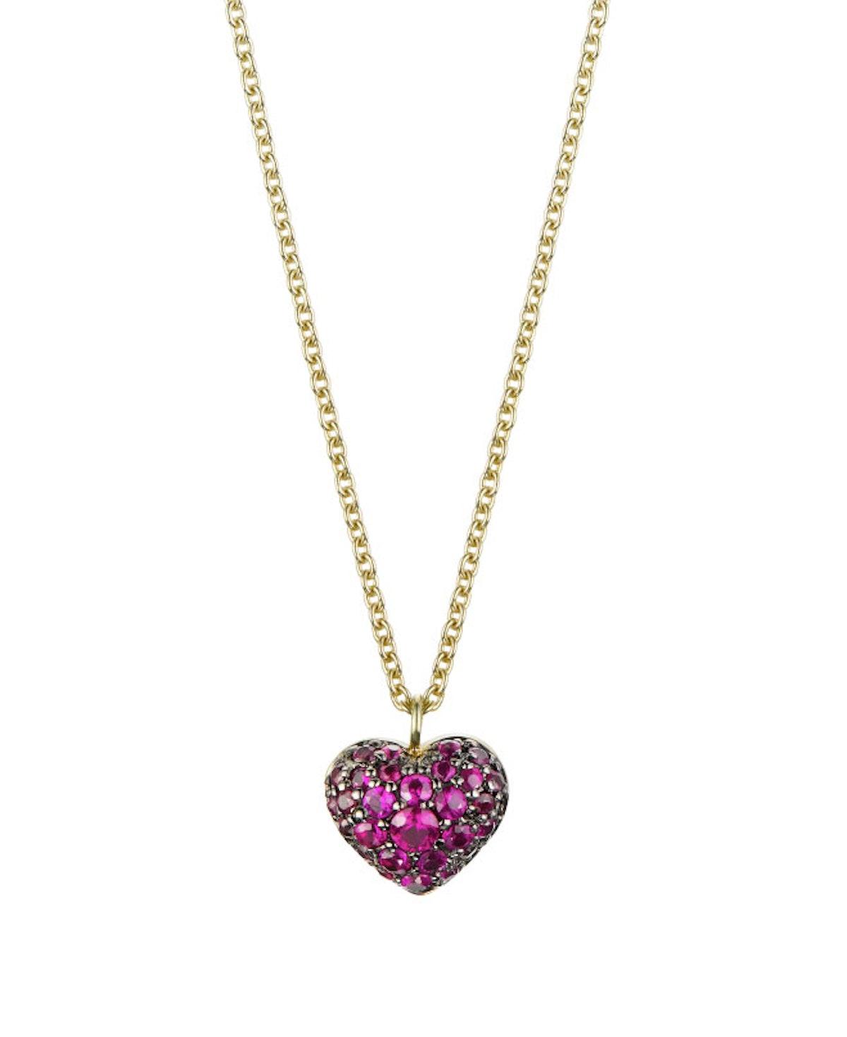 finn heart necklace