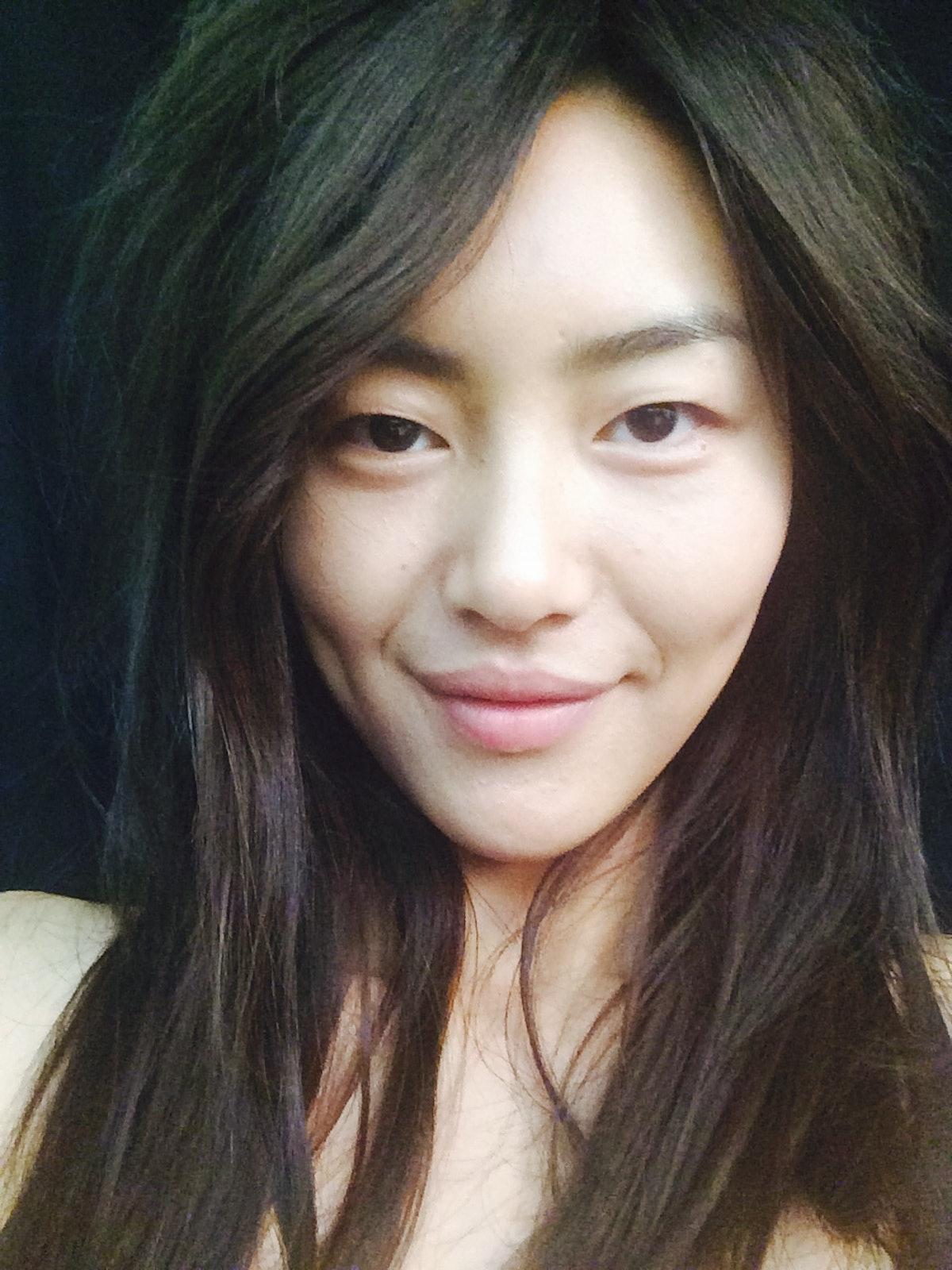 liu Wen selfie