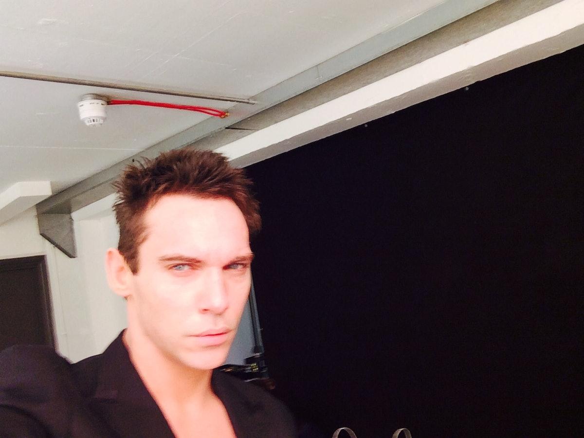jonathan rhys meyers selfie