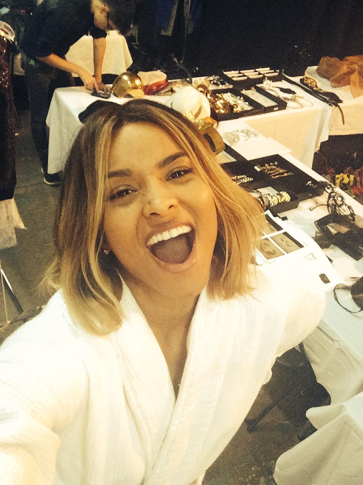 ciara selfie
