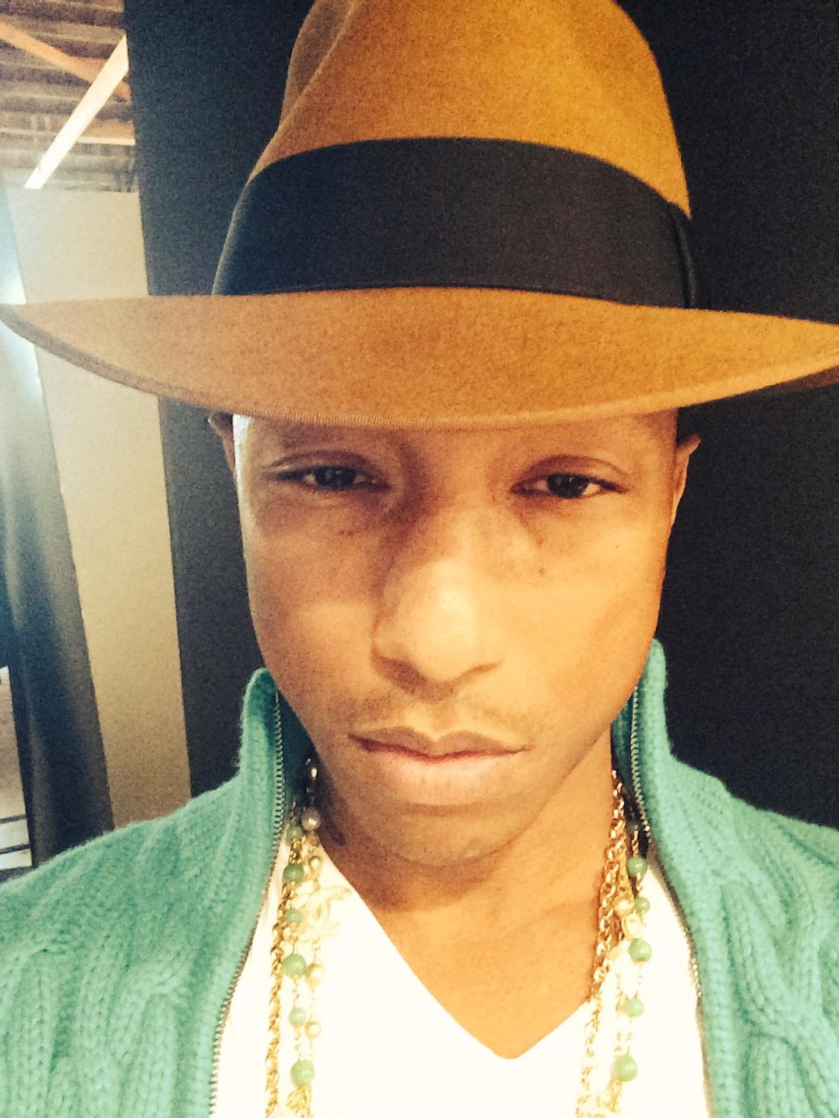 Pharrell Selfie