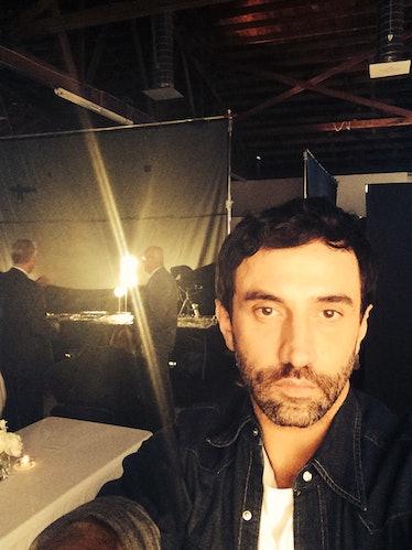 Riccardo Tisci Selfie