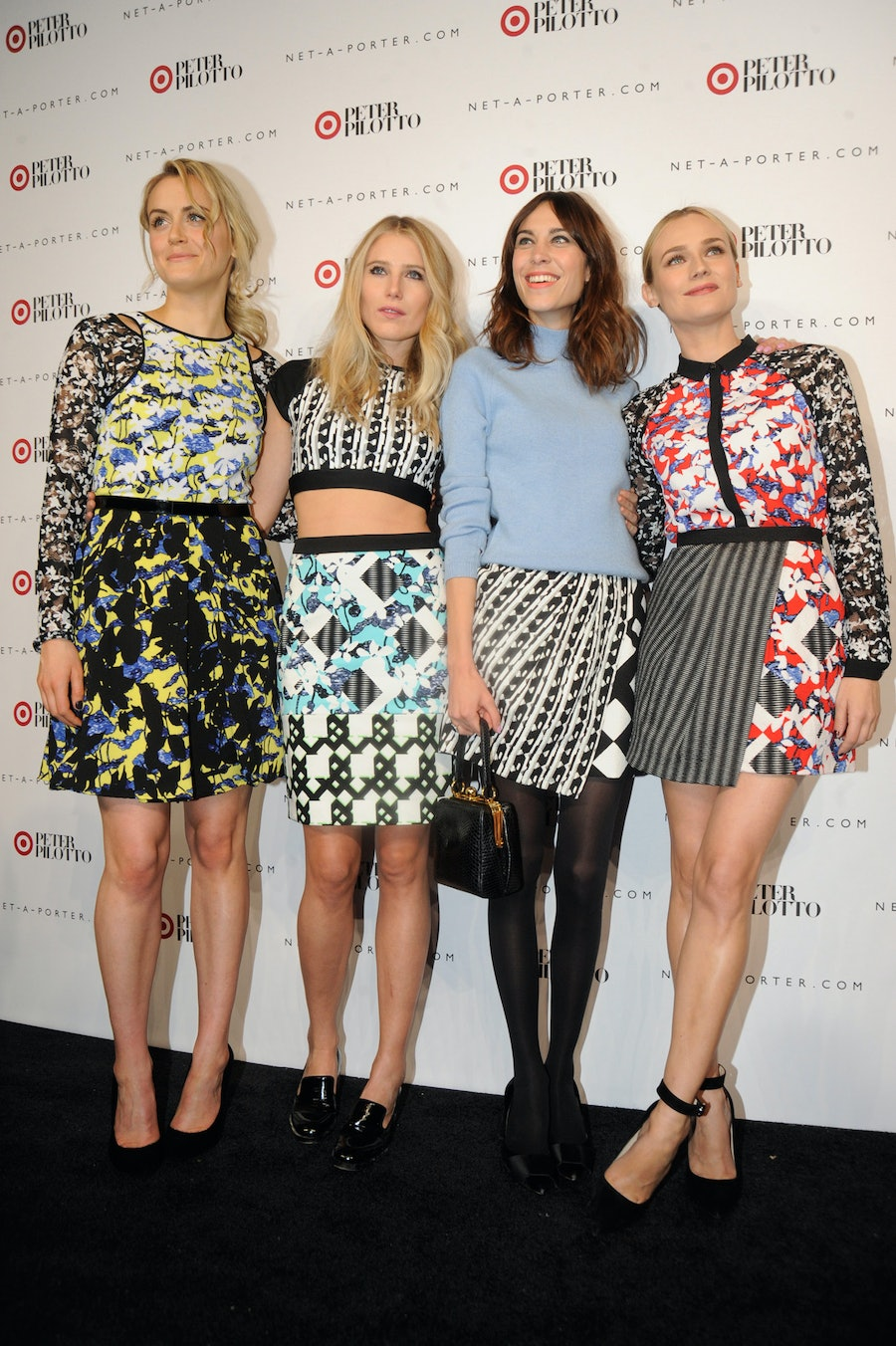 Taylor Schilling, Dree Hemingway, Alexa Chung, and Diane Kruger.