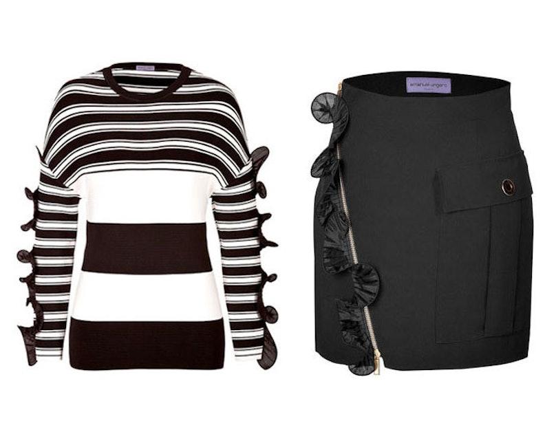 Ungaro striped top