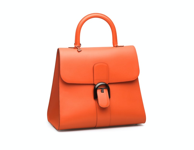delvaux orange bag