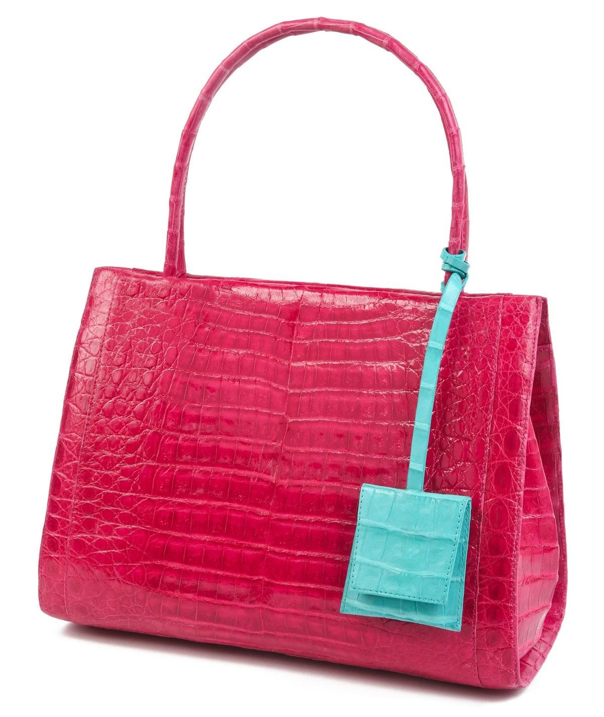 nancy gonzalez pink bag