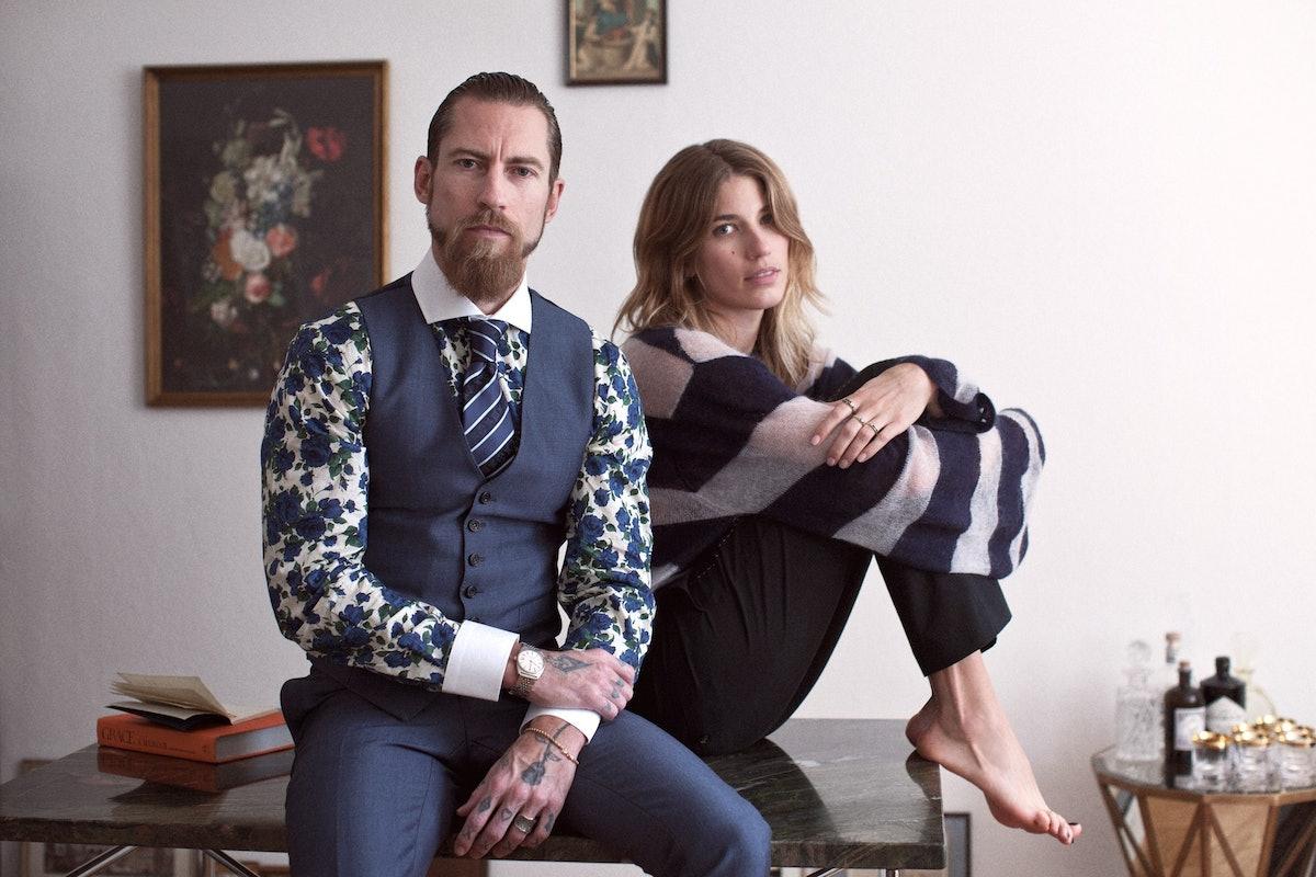 Justin O'Shea and Veronika Heilbrunner