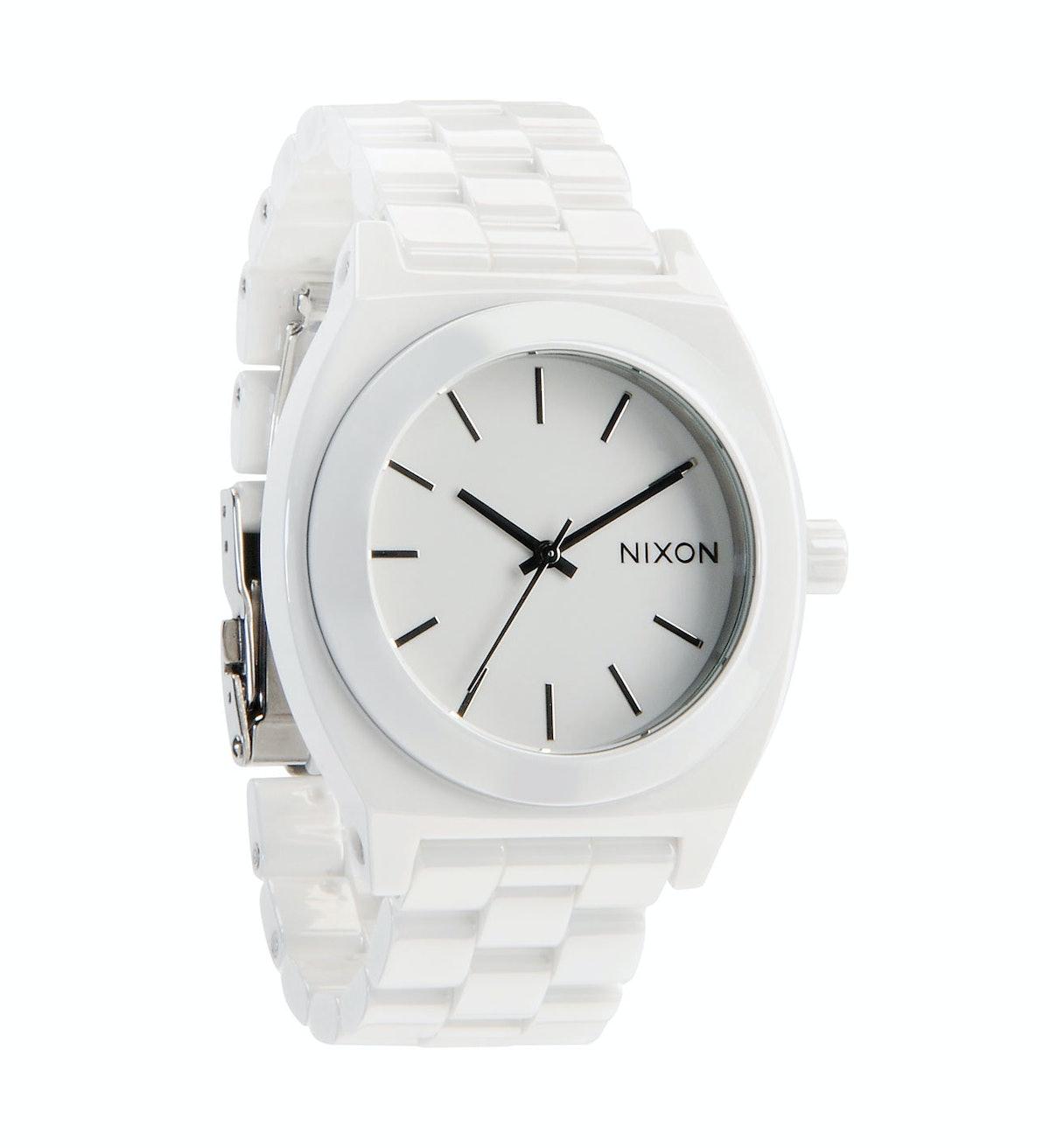 Nixon white watch
