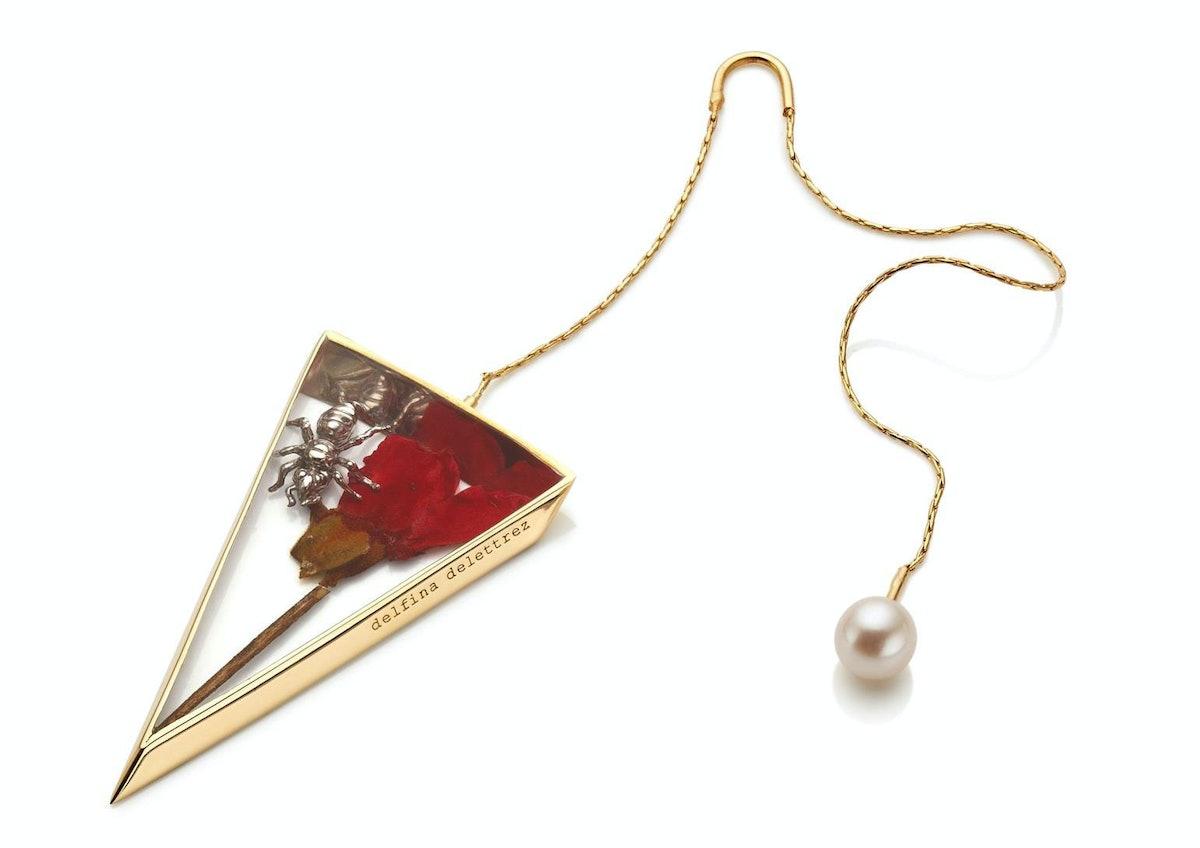 Delfina Delettrez Triangle Earring