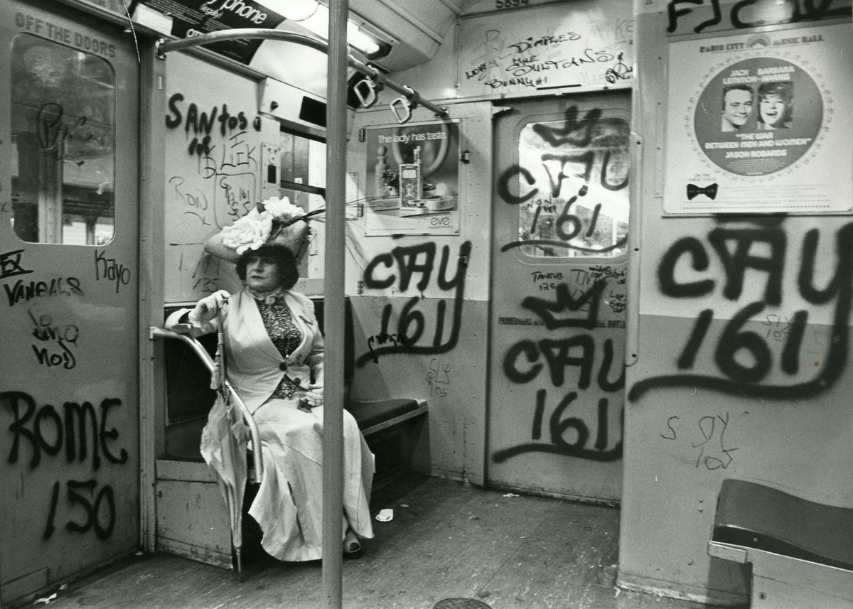 Editta Sherman Subway Bill Cunningham