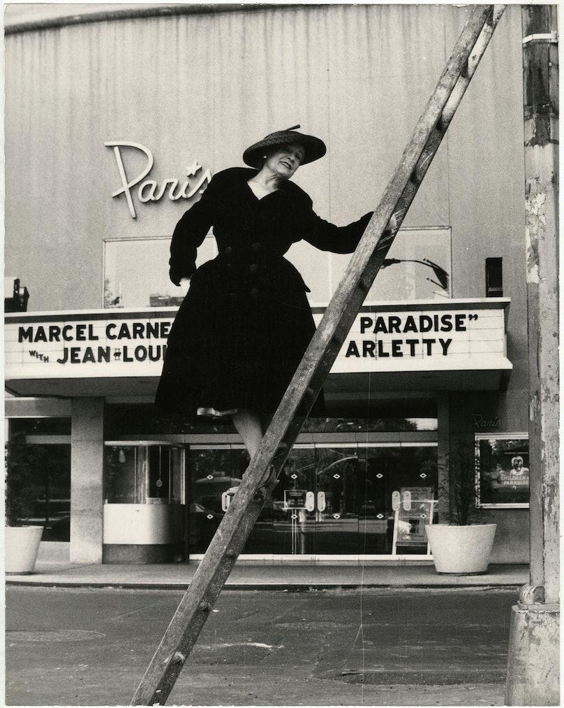 Paris Theater Bill Cunningham