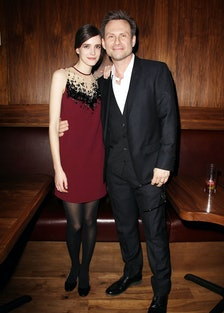 Stacy Martin and Christian Slater