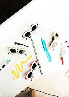 Linda Farrow x Prabal Gurung Sunglasses