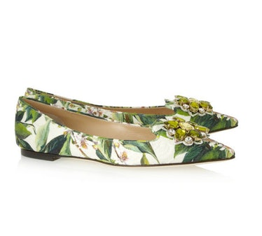 Dolce Floral Flats
