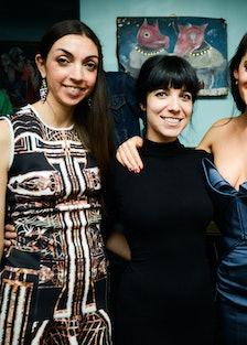Gina Ferraraccio, Julie Dicterow, and Arden Wohl
