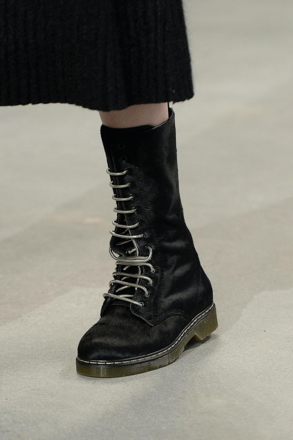 Calvin Klein Fall 2014 Boots