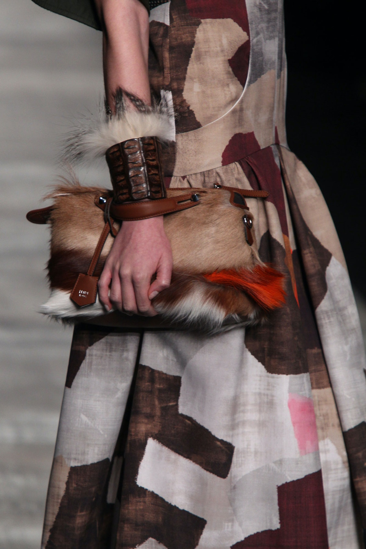 Fendi Fall 2014 Fur Bag