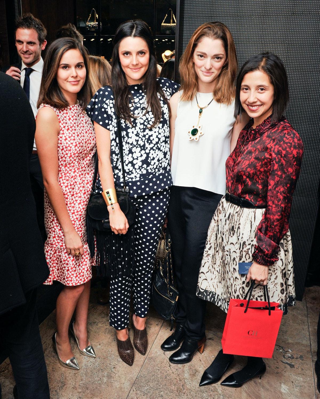Giovanna Campagna, Eugenia Gonzalez, Sofia Sanchez Barrenechea, and Karla Martinez de Salas
