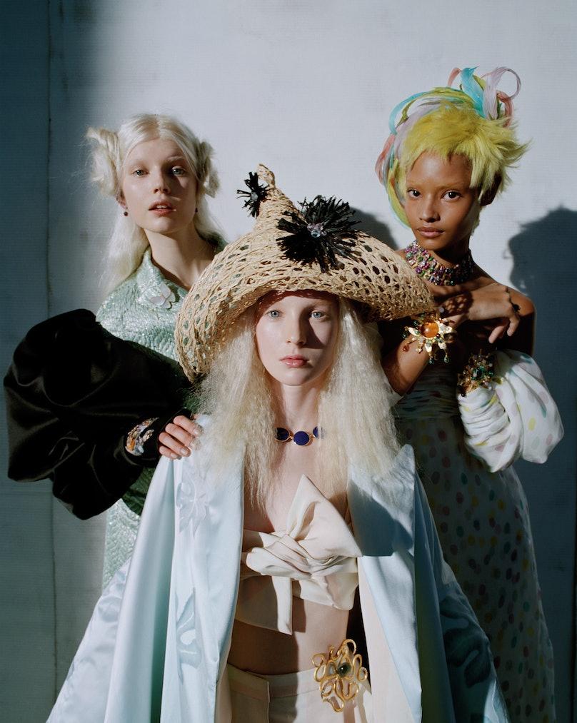 Schiaparelli Haute Couture suit