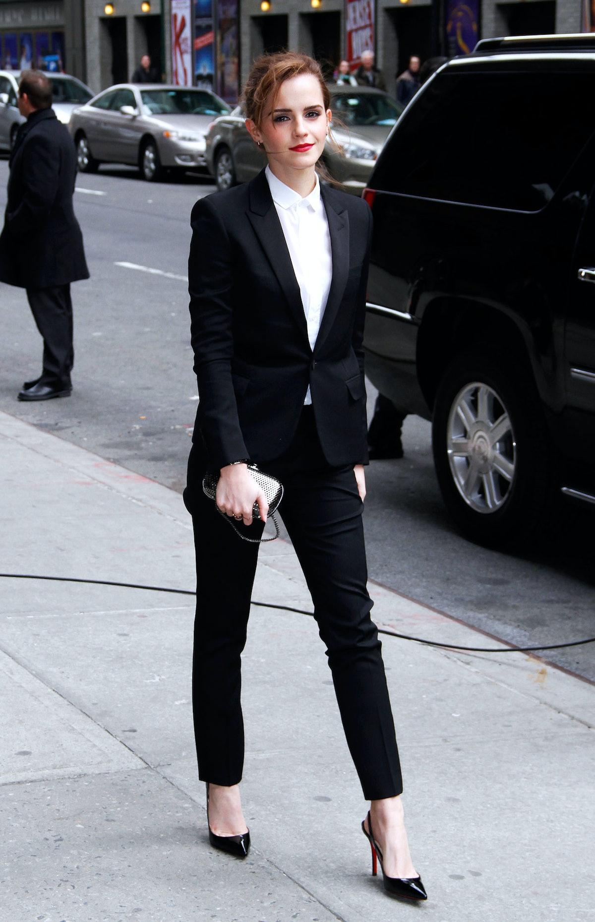 Emma Watson Saint Laurent