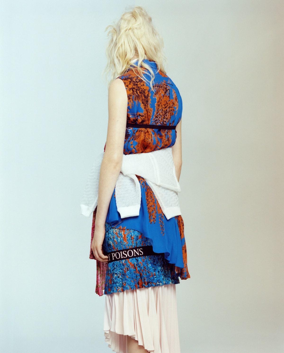 Dior sleeveless blouse