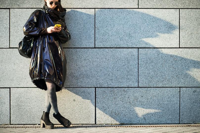 Kiev Ukraine Fashion Week Fall 2014 Street Style.