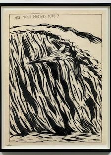 Raymond Pettibon Surfer