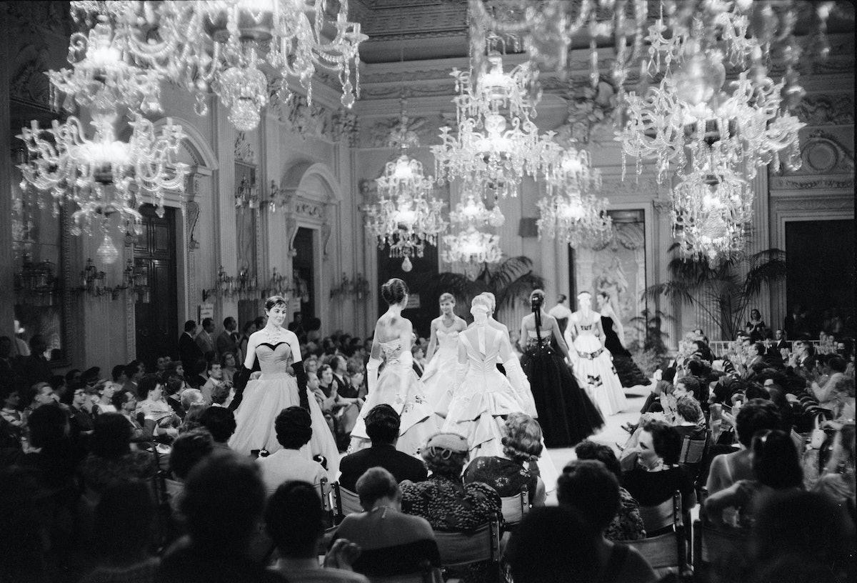 Archivio Giorgini fashion show