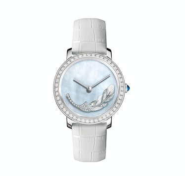 Boucheron mother of pearl watch