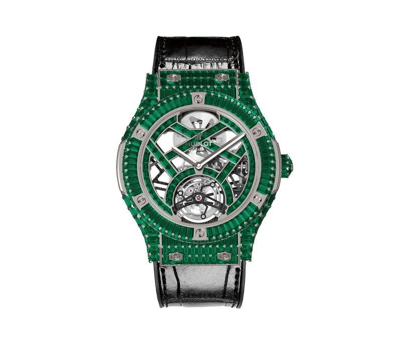 Hublot emerald watch