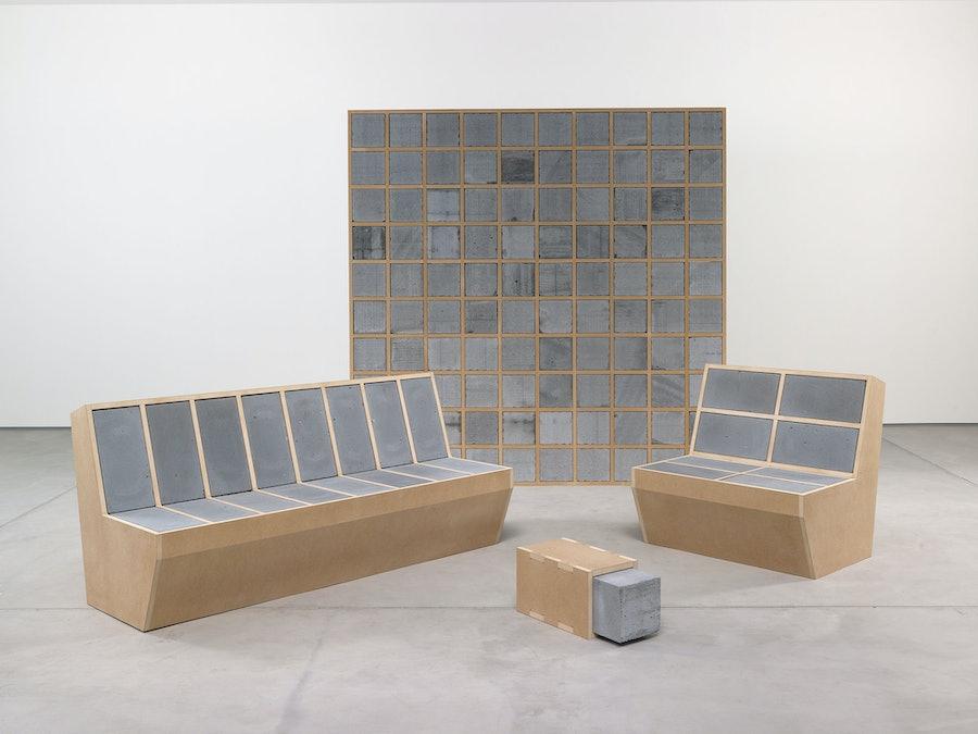 Sarah Lucas installation view